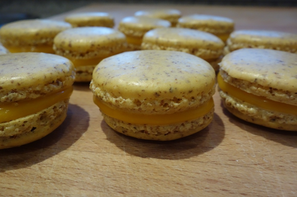 meine ersten Macarons